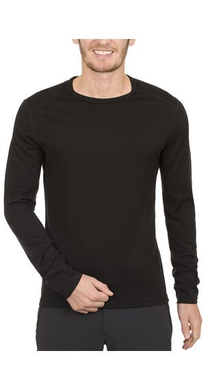 Icebreaker Oasis LS Crewe Shirt Men black